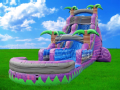 Giant 25 ft. Purple Water Slide