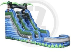 NEW!16 ft. Blue Crush Water Slide