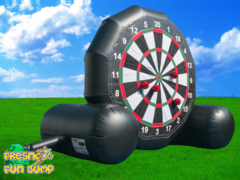 Giant Velcro Soccer Dart Game