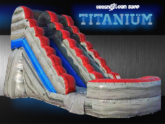 NEW!15 ft. Titanium Water Slide