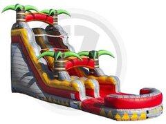 NEW!20 ft. Tropical Lava Rush Water Slide