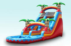 20 ft. Tropical Water Slide