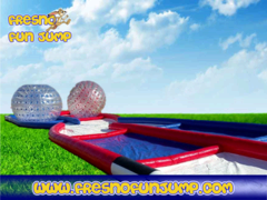 Zorb Ball Criss Cross Course
