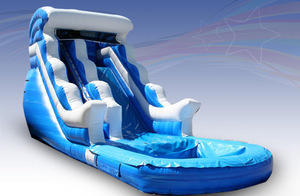 20 ft. Wave Water Slide