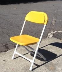 Children Folding Chairs Yellow