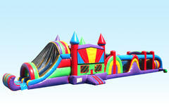 Jumbo Rainbow Obstacle Course