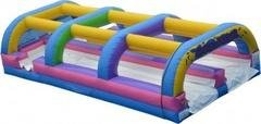 Dual Lane Wild Splash Slip and Slide