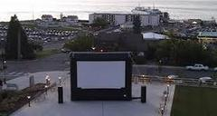 Outdoor Movie for up to 150 People