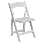 Resin White Chair