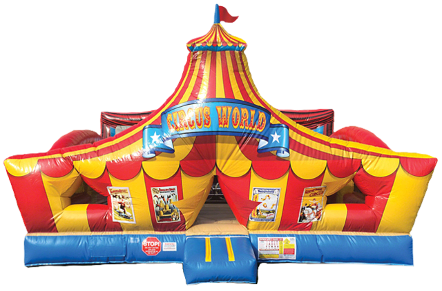 Toddler Circus Playland T203 19'x19'