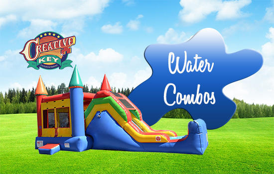 Water 5in1 Bounce House