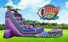 18 ft Water Slide - Purple Crush
