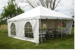 20 ft tent side wall