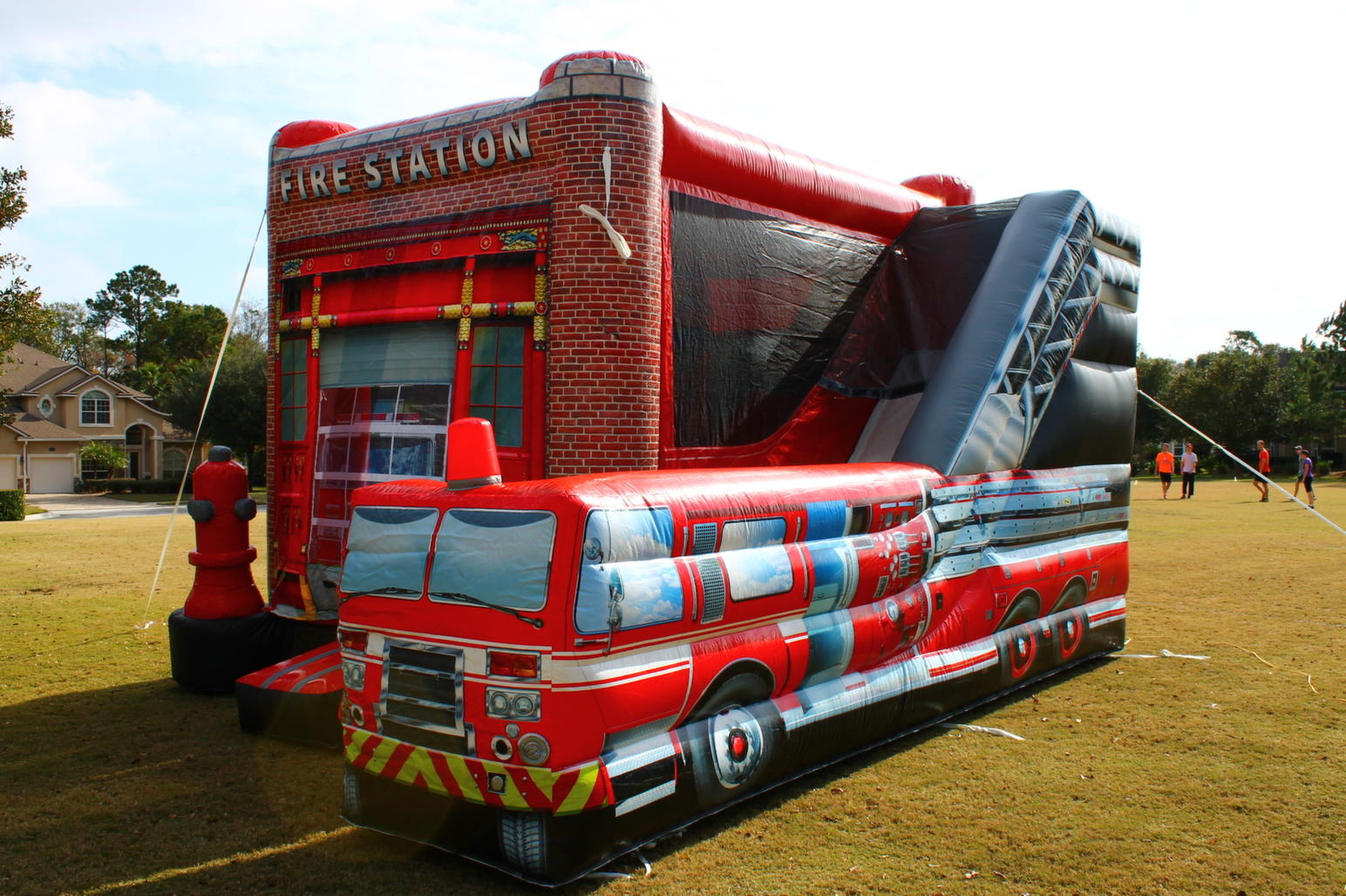 Image result for fire truck jump