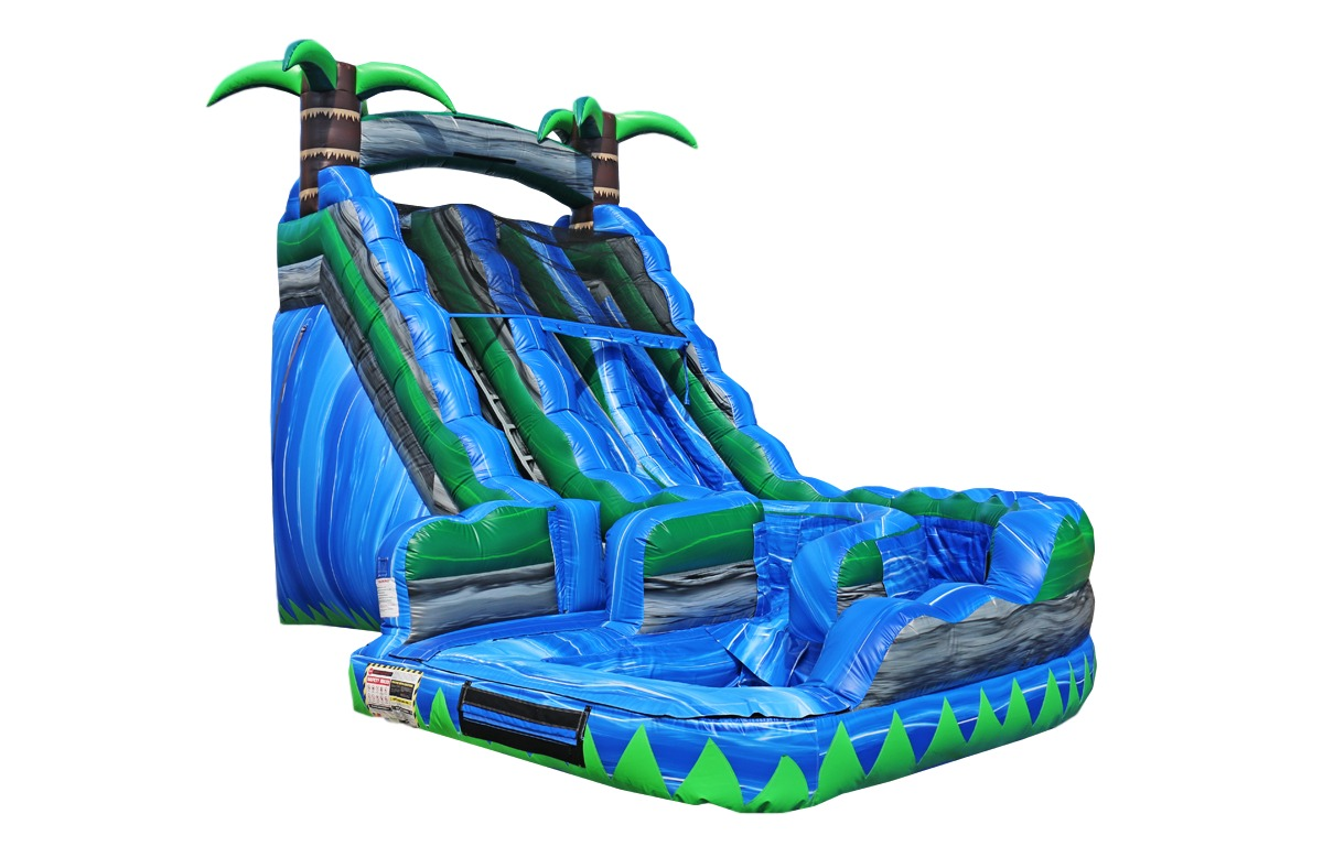 giant dual lane water slide rental in Jax Fl Jacksonville