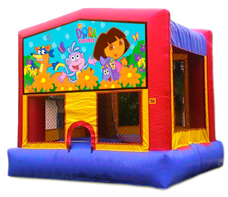 Dora Inflatable Bounce