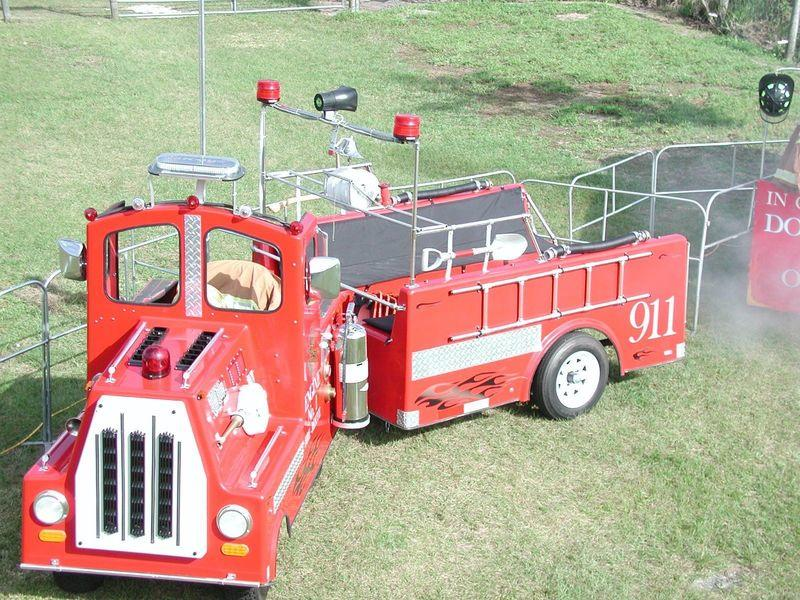 fire engine truck firefighter kiddy train jacksonville florida
