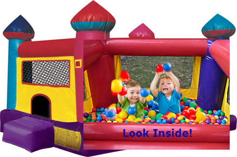 toddler small child bounce house rental jacksonville