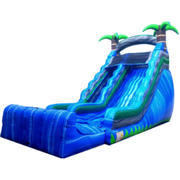 18ft Blue Tropical Dry Slide SL316