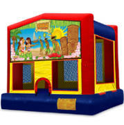 Luau Bounce House M123