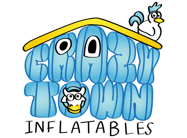 Crazy Town Inflatables Logo