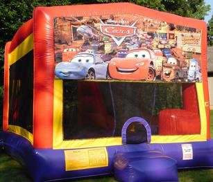 Disney Cars Bounce House Slide Combo