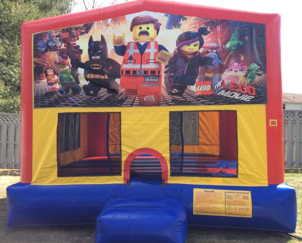 Lego Movie Bounce House
