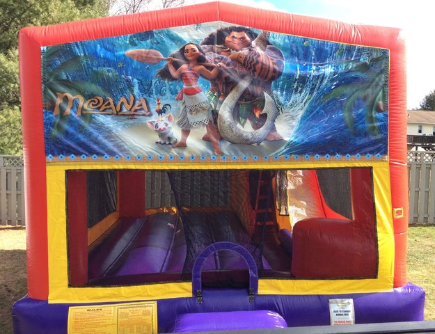 Moana Bounce House Slide Combo