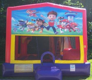 Paw Patrol Bounce House Slide Combo