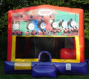 Thomas Train Bounce House Slide Combo
