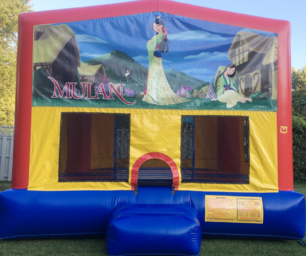 Disney Mulan Bounce House