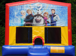 Frozen Bounce House (Banner Front)