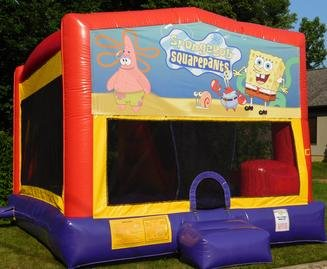 Spongebob Bounce House Slide Combo