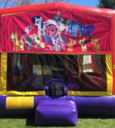 My Little Pony Bounce House Slide Combo