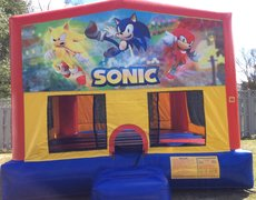 Sonic Bounce House