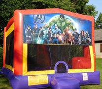 Avengers Bounce House Slide Combo