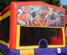 Scooby-Doo Bounce House Slide Combo