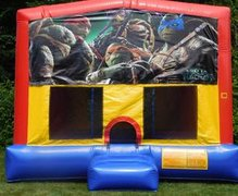 Ninja Turtle Movie Bounce House