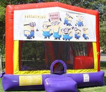 Minions Bounce House Slide Combo