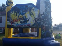 Batman Club Moon Bounce