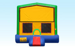 Bounce House w/hoop (Green)