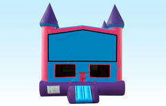 Bouncy Castle (Pink and Purple w/Hoop)