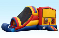 5 in 1 Combo Bounce House w/2 Slides