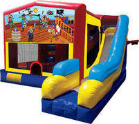 7 in 1 Pirate Combo Bounce House