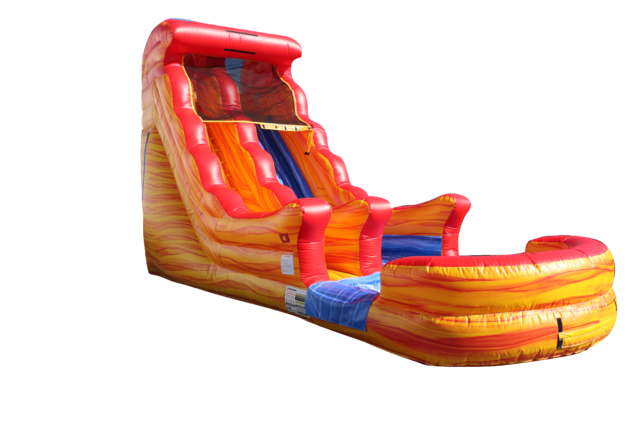 18' Lava Water Slide
