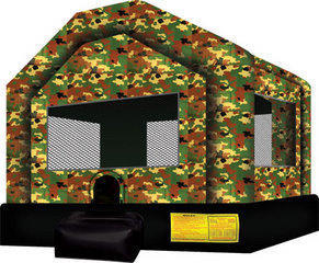 Camo Jumpy Castle