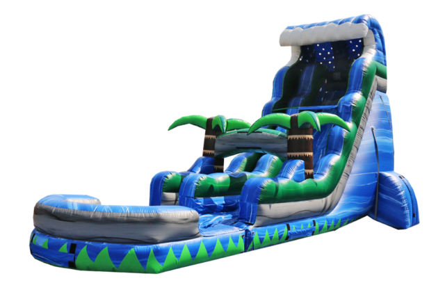 22' Blue Wave Water Slide