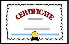 Additionally Insured Certificate