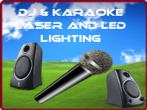 DJ/Karaoke/Audio/Lighting