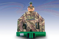 Army Guy Bounce House